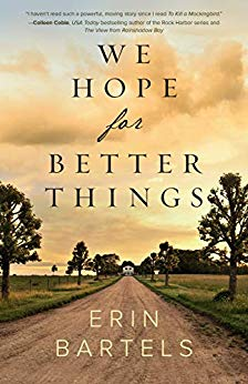 WE HOPE FOR BETTER THINGS a Finalist for Christy Award
